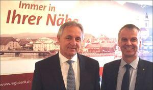 Felix Leuenberger, VRP, und Markus Boss. Bild: schweizeraktien.net