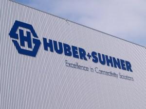 Huber+Suhner AG. Bild: zvg