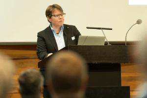Marianne Wildi, CEO Hypothekarbank Lenzburg.