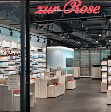 """Seit dem 8. August ist Zur Rose auch """"off-line"""" mit einem Flagship-Store in Bern vertreten. Bild: zvg"""