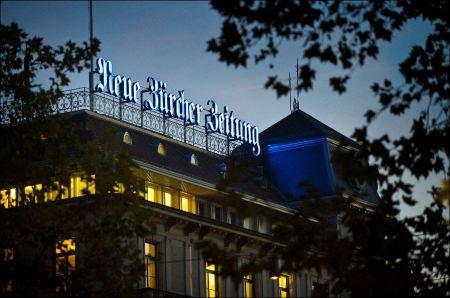 Die Aktie der AG für die Neue Zürcher Zeitung befindet sich weiter im Aufwind. Bild: Andreas Bodmer/ www.nzzmediengruppe.ch