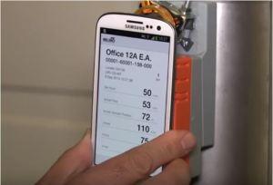 Die Antriebe können elektronisch per App gesteuert werden. Video: www.belimo.ch