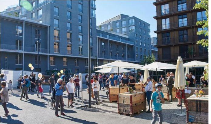 Am 24. September wurde das Freilager-Areal mit einer grossen Feier für die Mieter eröffnet. Bild: www.zf-immo.ch