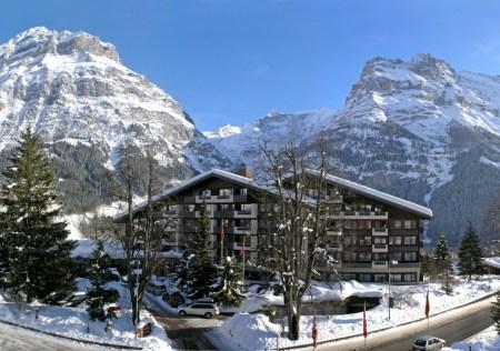 Das Hotel in Grindelwald erfreut mit sehr guten Zahlen. Quelle: Sunstar Holding AG