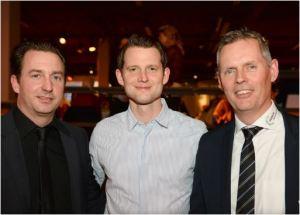 Oliver Bühler, Fabian Unteregger und EZL-CEO Ernst Uhler. Bild: Sandra Blaser