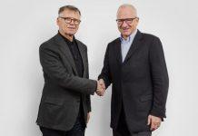 Peter Wanner, VRP AZ Medien, und Etienne Jornod, VRP NZZ