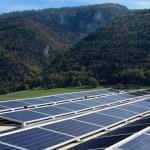Solaranlagen liefern grünen Strom.