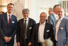 Brian Fischer, Jürg Gutzwiller, Marc Praxmarer, Luc Schuurmans