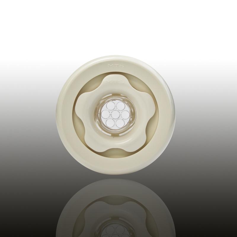UNI SET Komplettset für vorgefertigte Becken mit Folienauskleidung ABS Cremeweiß Image