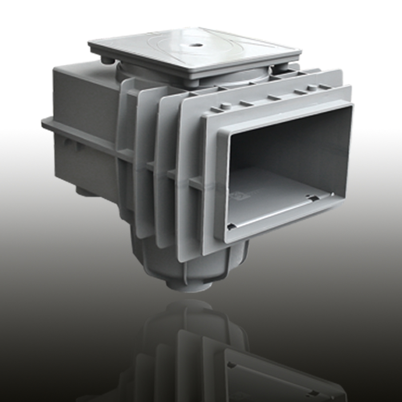 V20 Skimmer für Betonbecken Edelgrau Image