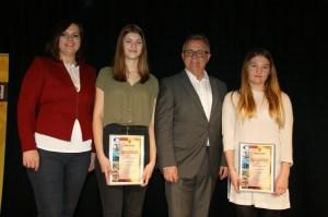 53. Jugendsportlerehrung 2015 am 19. Februar 2016 durch Landeshauptmann Hans Niessl und Mag. Astrid Eisenkopf