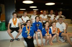 7 Gesamtsiege; 1*Burgenlandrekord; 62*Gold, 35*Silber, 34*Bronze