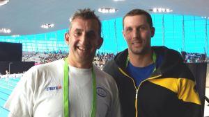 Dietmar Stockinger wird Masters-Vize-Europameister über 100m Schmetterling, Platz 3 über 100m Freistil; Michael Jedlicka landet im Mittelfeld