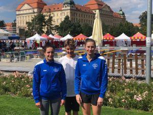 Platz 3 für Karoline Schwarz beim Großen Preis von Znojmo 2018