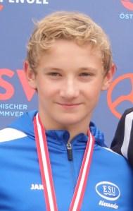 Rekordmeister Alexander Szekely schwimmt 2x Österreichischen Rekord!