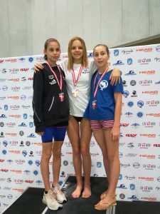 Martha Felkel brach, 6 Jahre alten Burgenlandrekord über 200m Brust!