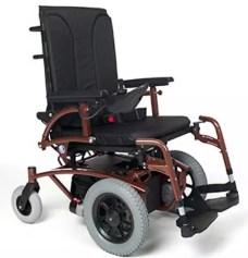 Silla de ruedas eléctrica tracción delantera