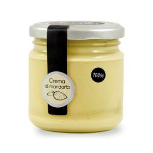 Crema 100% mandorle senza zucchero Sciara Bronte