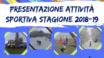 Presentazione Attività Sportiva – 23 Settembre 2018