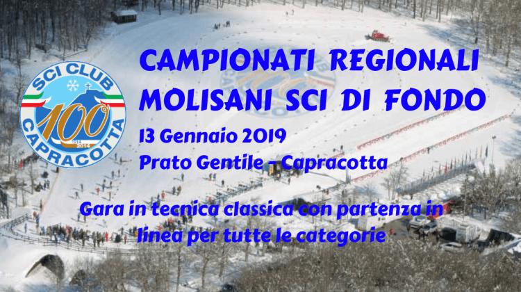 Campionati Regionali Molisani – Prato Gentile 13 Gennaio 2019