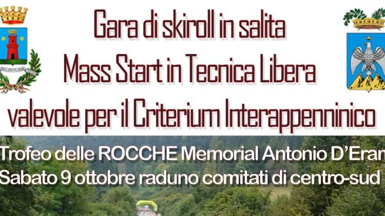 2° Trofeo delle Rocche Memorial Antonio D'Eramo – Rocca di Mezzo 10 Ottobre 2021