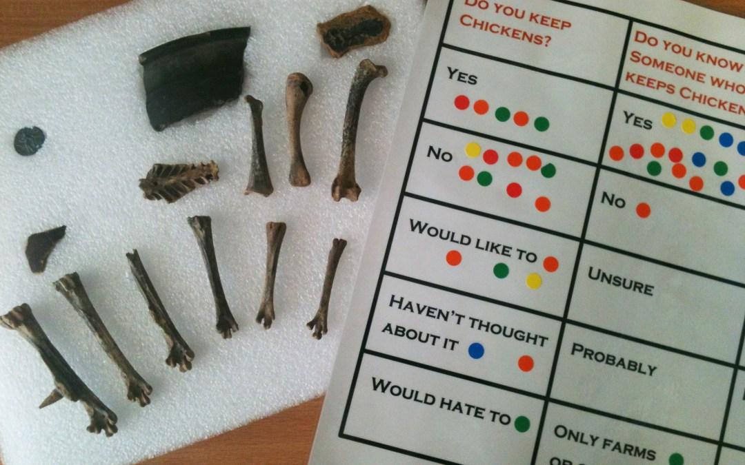 Chickens + Archaeology + Science = Glastonbury!