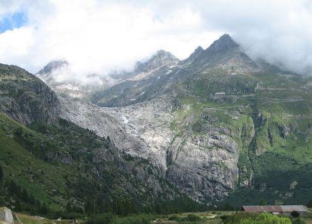 Gletsch Glacier 2008