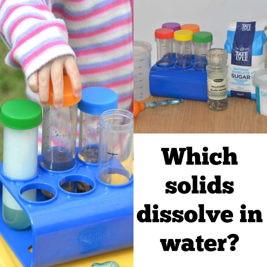 Which Solids Dissolve In Water