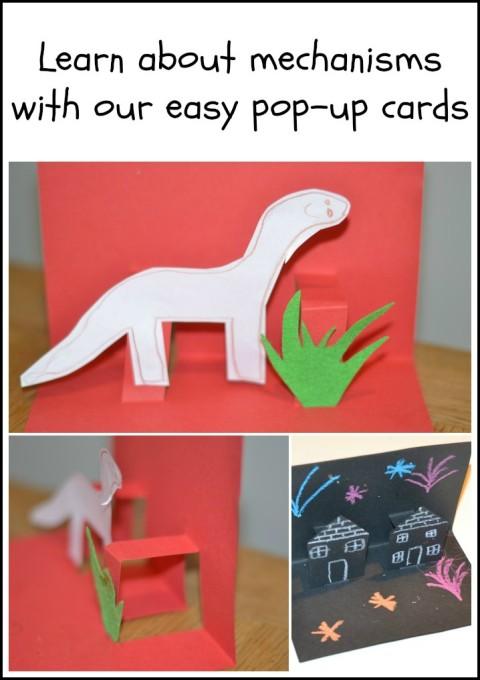 Mechanisms Pop Up Cards Science Sparks