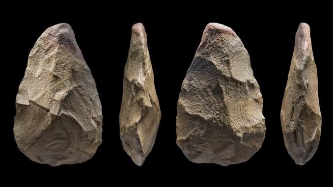 A stone tool