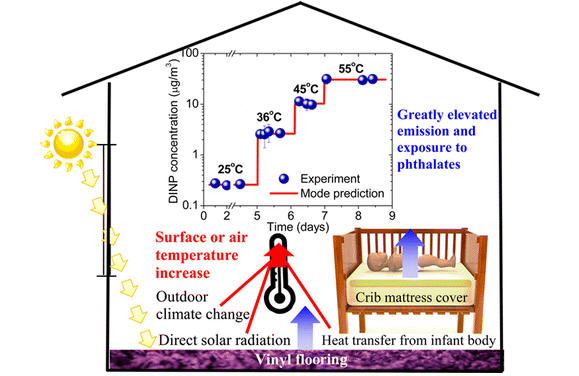 A New Paper Examines One Possible Exposure Route For Babies Vinyl Crib Mattress Covers That Emit More Phthalates Into The Air As They Are Heated