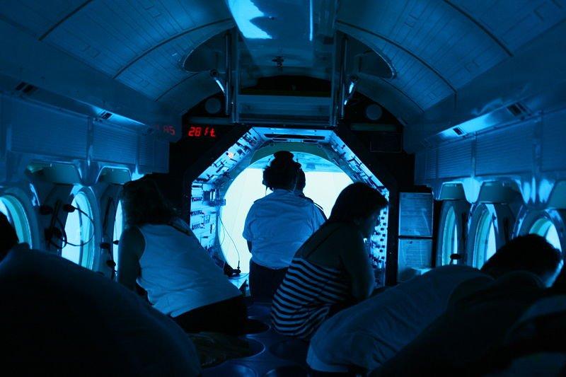 Como as pessoas recebem oxig nio e gua pot vel dentro de for Interior submarino