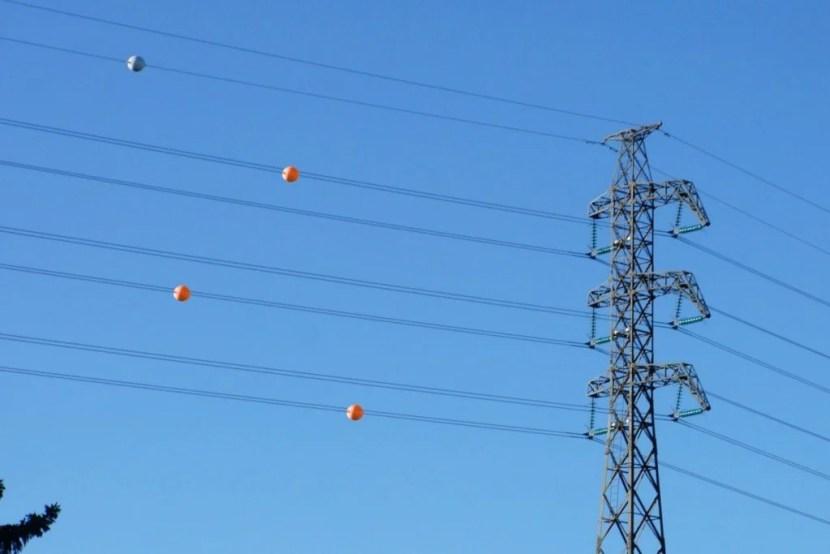 Bolas de marcação aérea Powerline