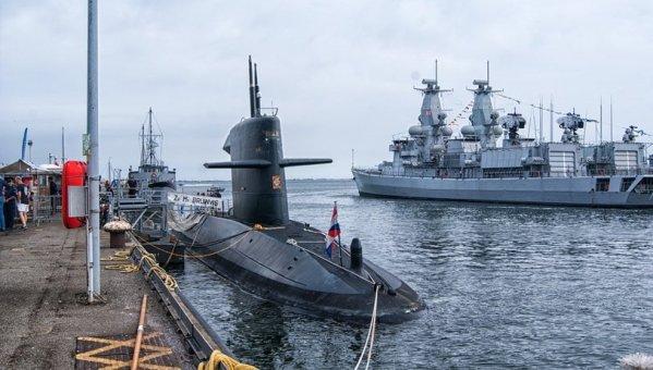 submarino, marinho, exército, boating