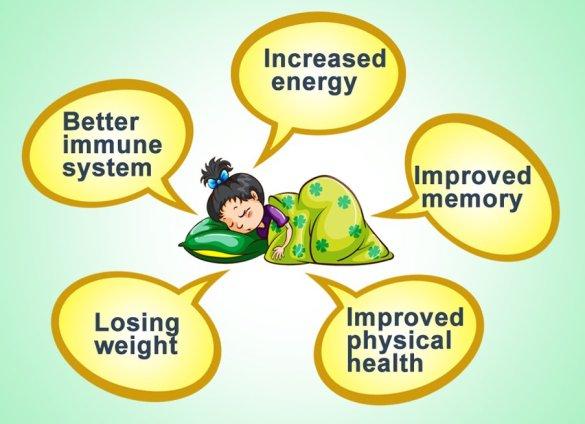 benefício do sono saudável