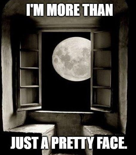 Eu sou mais do que apenas um rostinho bonito