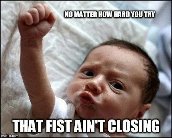 Why Is It So Difficult To Make A Clench Fist Right After Waking Up?