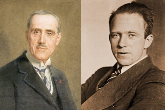 Heisennberg e Maurice de Broglie