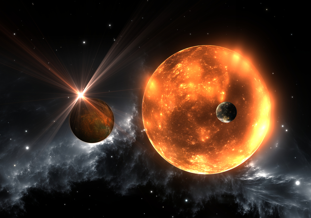 Compared Red And Giant Giant Star Sun Super