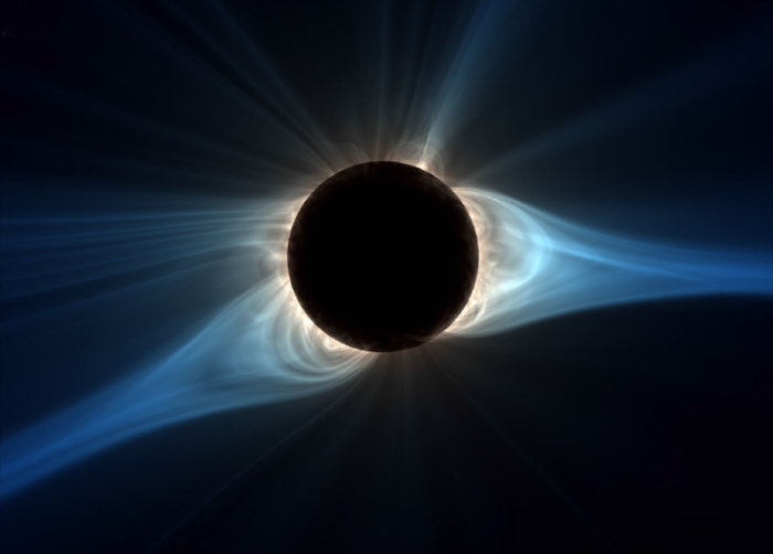 eclipse corona prediction