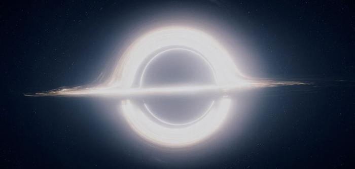 gargantua yıldızlararası kara delik