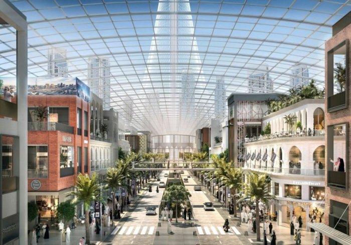Concept illustration of 'The Boulevard' (Dubai Holdings)