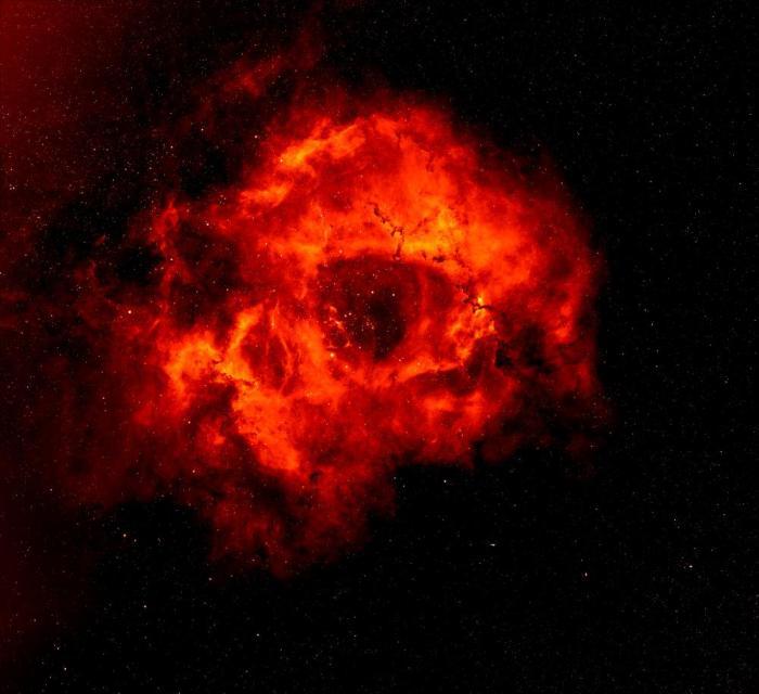 Rosette Nebula the Skull