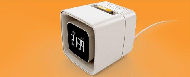 This Scent Producing Alarm Clock Wakes