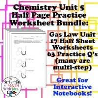 Gas Laws Worksheets