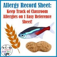 Allergy Record Form