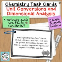 Metric Unit Conversion Task Cards