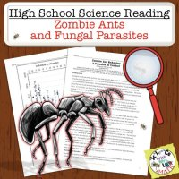 Zombie Ants High School Science Reading
