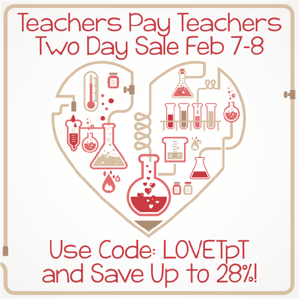 Teaching blog page 3 of 17 science and math with mrs lau february 7 8 teachers pay teachers sale fandeluxe Images