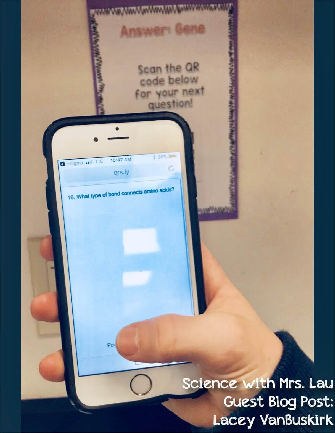 qr code blog post title-10 - Science and Math with Mrs  Lau
